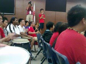 Drumming Peeps