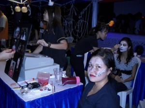 Make up booth