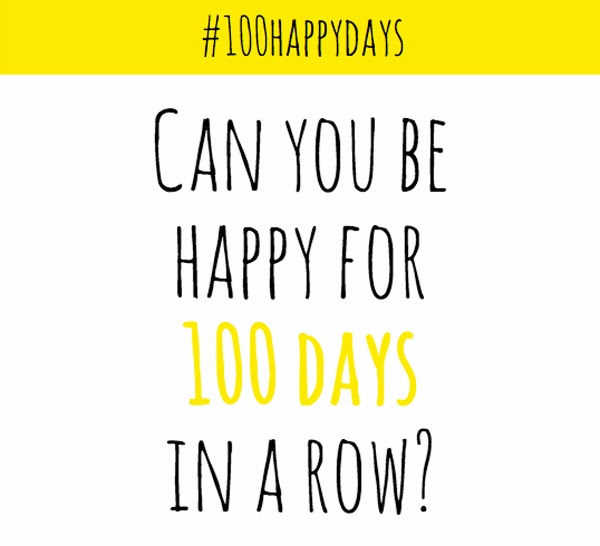 #100happydays Challenge starts today!